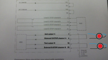 E-Stop wiring question - KUKA Robot Forum - Robotforum - Support and  discussion community for industrial robots and cobots | X11 Wiring Diagram |  | Robotforum
